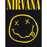 Nirvana Smiley Poster