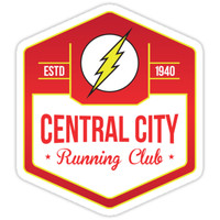 Central City Running Club Color by garywithrow
