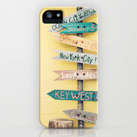 Going Places iPhone & iPod Case by Laura Ruth