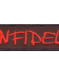 Infidel Morale Patch With Hook Back