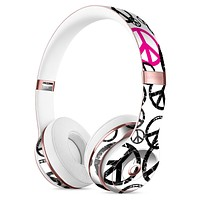 Peace Collage Full-Body Skin Kit for the Beats by Dre Solo 3 Wireless Headphones