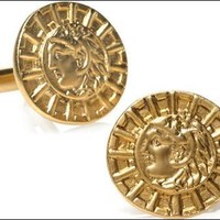 Alexander the Great Greek Leader Coin Replica Museum Cuff Links