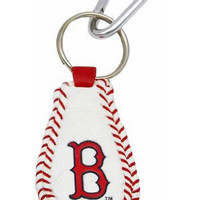 MLB Boston Red Sox Baseball Keychain