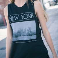 JANDRA NEW YORK TANK