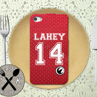 Teen Wolf Inspired Isaac Lahey Lacrosse Jersey Beacon Hills Rubber Tough Phone Case For The iPhone 4 and 4s and iPhone 5 and 5s and 5c