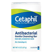Cetaphil Antibacterial Gentle Cleansing Bar Ulta.com - Cosmetics, Fragrance, Salon and Beauty Gifts