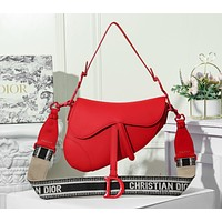 Christian Dior Newest Popular Women Leather Handbag Tote Crossbody Shoulder Bag Satchel