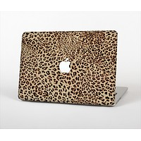 The Brown Vector Leopard Print Skin Set for the Apple MacBook Air 11""