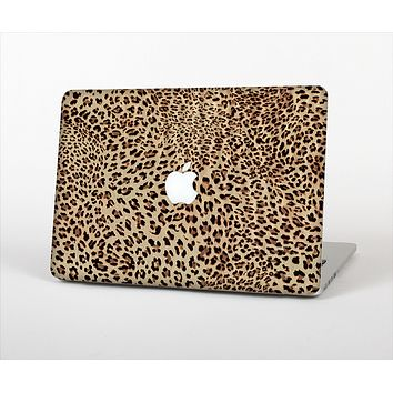 """The Brown Vector Leopard Print Skin Set for the Apple MacBook Air 11"""""""