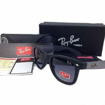 DCCK Ray Ban RBk301 black Frame gray Lens Sunglasses