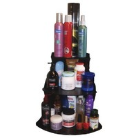 "Corner Shelf Cosmetic Organizer 16"" High"