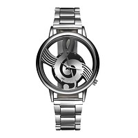 2017 New Casual Music Note Watch