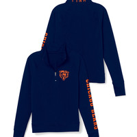 Chicago Bears Athletic Half-Zip Pullover