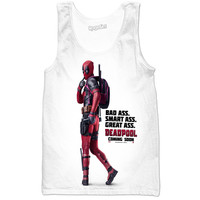 BAD ASS SMART ASS DEADPOOL shirt