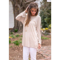 Lace Patchwork Long Sleeve T-shirts [7322413505]