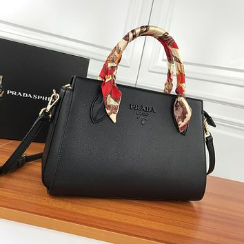 prada newest popular women leather handbag tote crossbody shoulder bag satchel 56