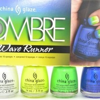 China Glaze OMBRE Wave Runner 2013 Collection