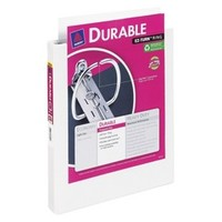 """Avery 1.5"""" Durable View Binder - White"""