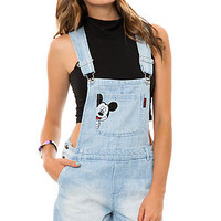 Modern Lux Overall Mickey Peek in Light Denim
