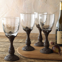 Four Wine Glasses - GG Collection