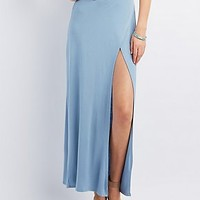 WRAPPED MAXI SKIRT