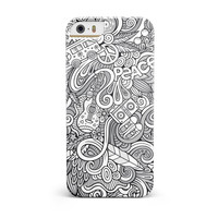 Hippie Dippie Doodles iPhone 5/5S/SE INK-Fuzed Case