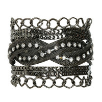 Braided Mesh Magnetic Cuff | Shop Jewelry at Wet Seal