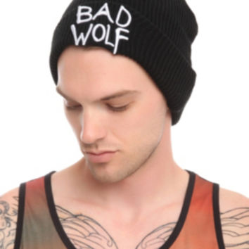 Doctor Who Bad Wolf Watchman Beanie