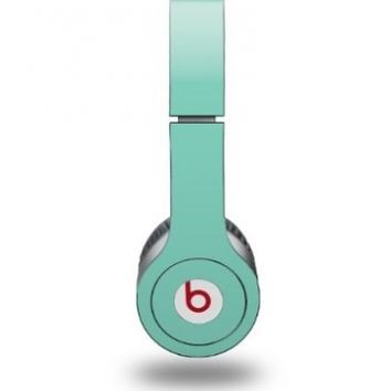 Solids Collection Seafoam Green Decal Style Skin - fits genuine Beats Solo HD Headphones (HEADPHONES NOT INCLUDED)