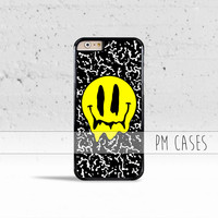 Melting Smiley Face Case Cover for Apple iPhone 7 6s 6 SE 5s 5 5c 4s 4 Plus & iPod Touch