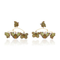 One-Of-A-Kind Butterflies Mobile earrings | Moda Operandi