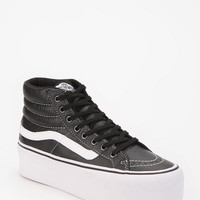 Urban Outfitters - Vans SK8 Leather High-Top Flatform-Sneaker