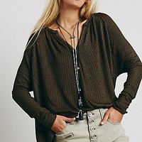 Free People Womens You Make My Day Hacci