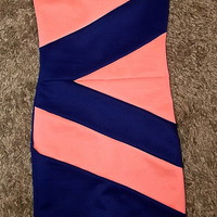 Cotton Candy Cefian Bodycon from University