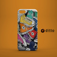 CONVERSE SNEAKERS Design Custom Case by ditto! for iPhone 6 6 Plus iPhone 5 5s 5c iPhone 4 4s Samsung Galaxy s3 s4 & s5 and Note 2 3 4