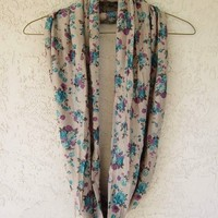 Floral Infinity Scarf from Love What's Missing
