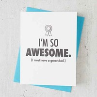 McBitterson's Father's Day Card