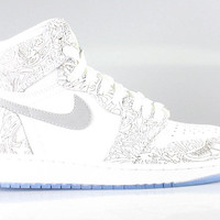 Air Jordan Big Kid's 1 I GS Retro High OG Laser