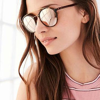 Ray-Ban Tech Light Round Aviator Sunglasses - Urban Outfitters