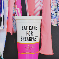 Kate Spade Eat Cake for Breakfast Insulated Tumbler