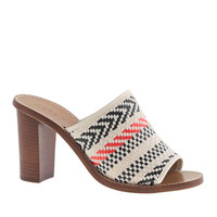 MARLOW FABRIC MULES