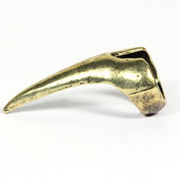 Talon Ring Finger Tip Claw Gold Tone Exotic Fingernail Spike RG03 Antique Fashion Jewelry