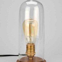 Cloche Lamp- Clear One