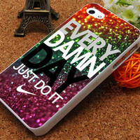 Every Damn Day Nike Just Do It  - iPhone 5C Case, iPhone 5/5S Case, iPhone 4/4S Case, Durable Hard Case USPSSHOP