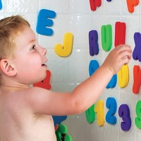 Hot !! Kids & Children & Baby Bath Toys water toys Classic toys Educational 36pcs/set (26 Letters + 10 Numbers ) 11-254