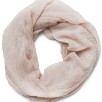 Daphne Infinity Scarf in Taupe