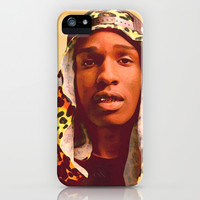 ASAP Rocky iPhone & iPod Case by Hands in the Sky