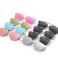 Double Mirror Frame Sunglasses glasses shades