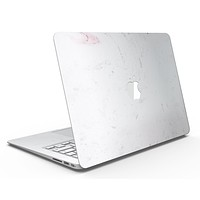 Mixtured Pink and Gray 44 Textured Marble - MacBook Air Skin Kit
