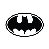 Batman Decal Sticker for Car, Truck, Laptop ANY COLOR